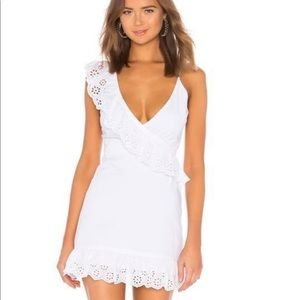 Lovers and friends white sun dress